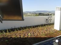 CUBIERTA AJARDINADA_GAMMA PUNZANO. El edificio Gamma, construido por Punzano Viviendas y Servicios, se encuentra ubicado en el barrio de El Grec y dispone en su tejado de placas solares, césped y un jardín que, además de dar vida al conjunto arquitectónico, se convierte en una extensión de las propias viviendas.